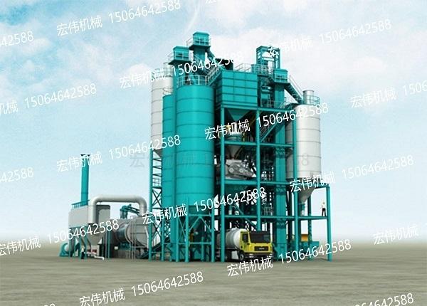 HW-20万吨干混砂浆设备