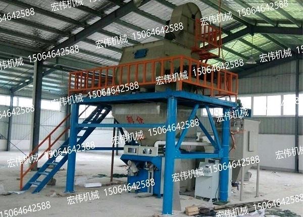 安徽芜湖砂浆设备安装现场