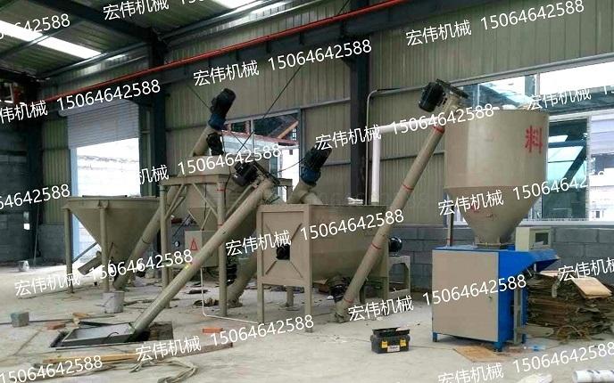 淄博砂浆设备安装现场