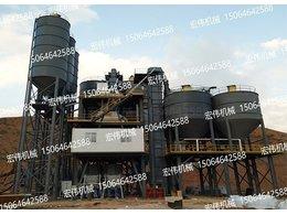 甘肃兰州预拌砂浆设备安装现场