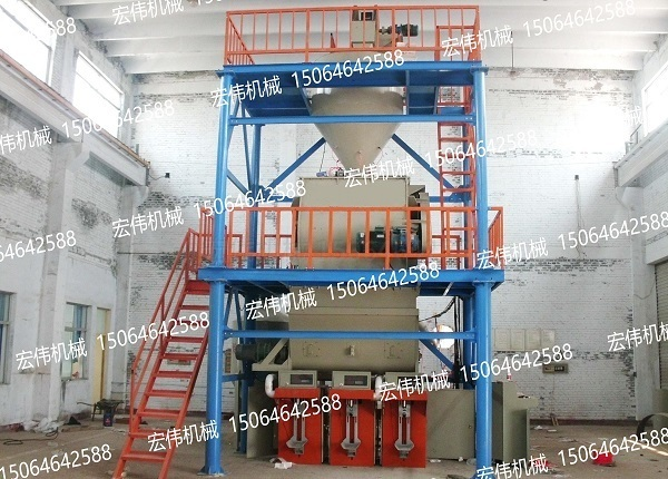 HW-80型干粉砂浆设备
