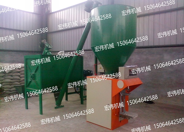 HW-50B型干粉砂浆设备