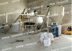 HW-55B-P型干粉砂浆设备
