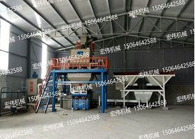 HW-60B-P型干粉砂浆设备