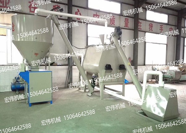HW-55B型腻子粉设备